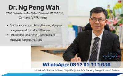 Dr. Ng Peng Wah Genesis IVF Penang